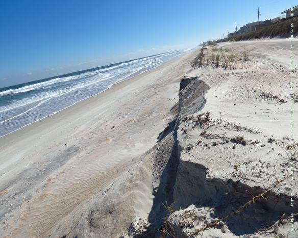 Matanzas Inlet Dune Erosion 1
